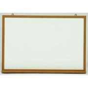 大特価・ホワイトボード 無地 木枠 壁掛け H630×W920
